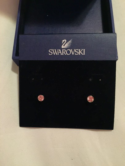 Swarovski Pink Swarovski Earrings
