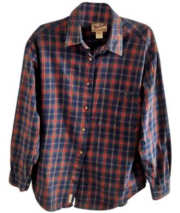 Woolrich Cotton Button Down Shirt plaid