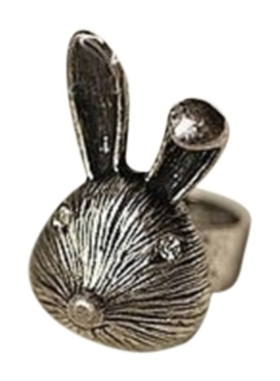 Other Vintage Anti Silver Rabbit Adjustable Ring