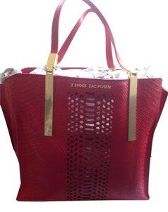 Zac Posen Shopper Zspoke Tote in Red