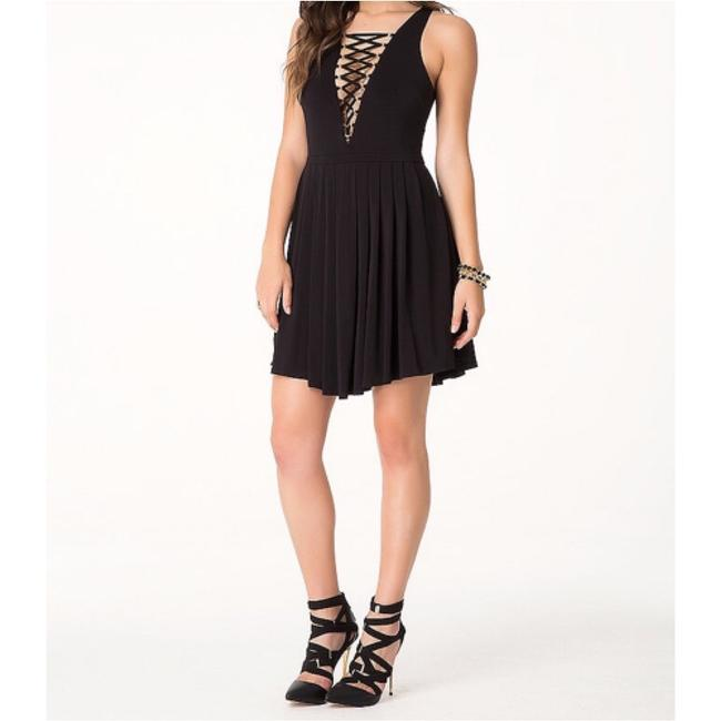 bebe Front Lace Up