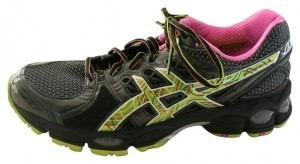 Asics Black/Digital/Neon PInk Athletic