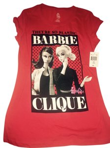 Barbie T Shirt Red