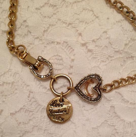 Juicy Couture Juicy Couture Hearts and Horseshoes Necklace