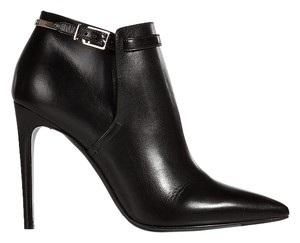 Burberry Women Ankle Fashion Stirrup Leather black Boots