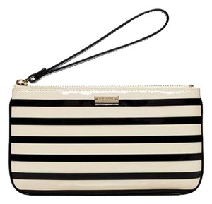 Kate Spade Wristlet in Black and cream