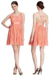 Alice + Olivia short dress Pink on Tradesy
