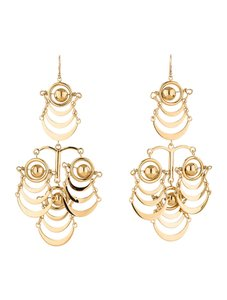 Lele Sadoughi Lele Sadoughi Orbit Chandelier Earrings