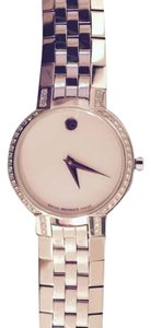 Movado AUTHENTIC MOVADO LADIES WATCH SURROUNDED BY DIAMONDS (84 A11835)