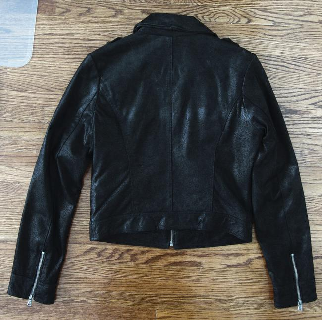 Levi's Trucker Zipper Leather Jacket