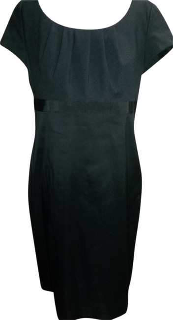 Lands' End Size 10 Empire Waist Fitted Pin Tuck Pleats Dress