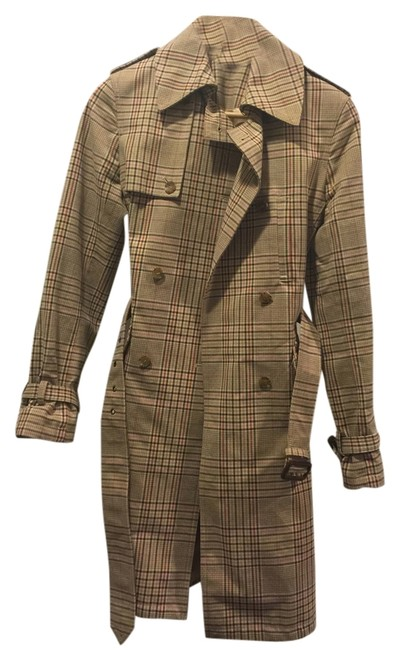 Preload https://item3.tradesy.com/images/express-beige-plaid-statement-trench-coat-size-2-xs-3255322-0-0.jpg?width=400&height=650