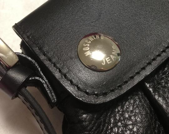 Moschino Leather Coin Coin Shoulder Bag