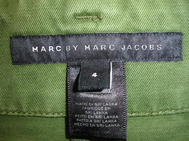 Marc by Marc Jacobs High Waisted High-waisted Belted High Waist Pleated High-waisted High-waist Mini/Short Shorts military green