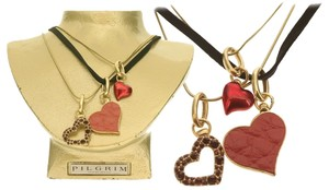 Pilgrim Pilgrim Skanderborg Vault Collections Heart 2 Heart Necklace