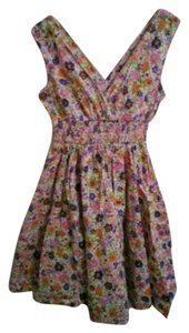 H&M short dress Multicolor Floral Summer on Tradesy