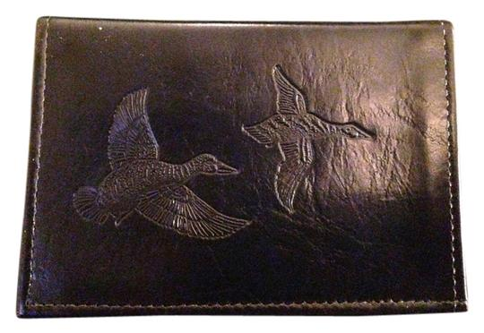Duck Embossed English Leather Wallet Made In Jamaica Duck Embossed English Leather Wallet Made In Jamaica