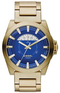 Diesel Diesel Men's Arges Gold-Tone Stainless Steel Bracelet Watch 50x46mm DZ1663