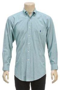 Ralph Lauren Button Down Shirt Grey