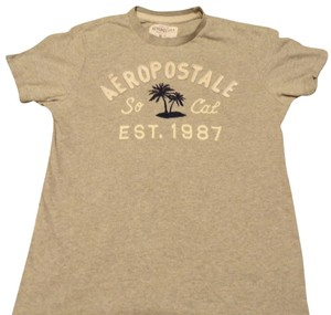 026a6c0f22c15 Aéropostale Vintage T Shirt Heather Gray
