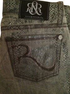 Rock & Republic & Skinny Jeans-Distressed