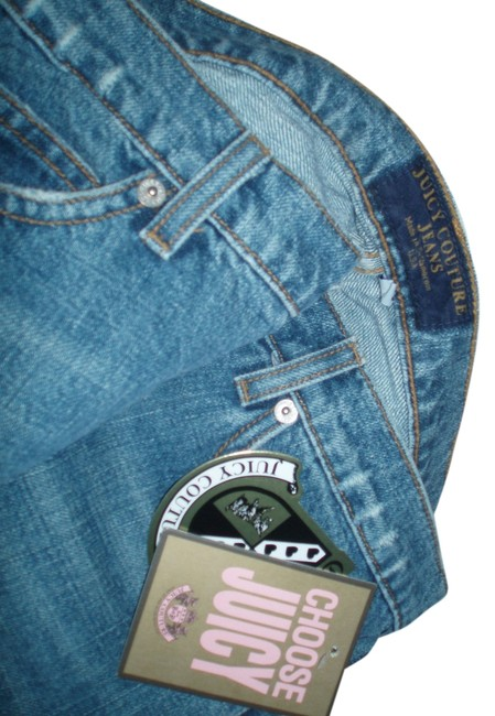 Item - Blue Distressed Denim Relaxed Fit Jeans Size 30 (6, M)