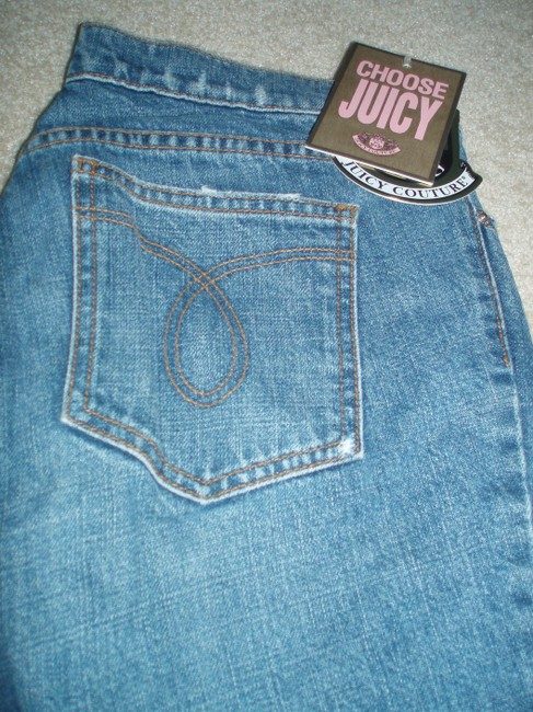 Juicy Couture Relaxed Fit Jeans-Distressed
