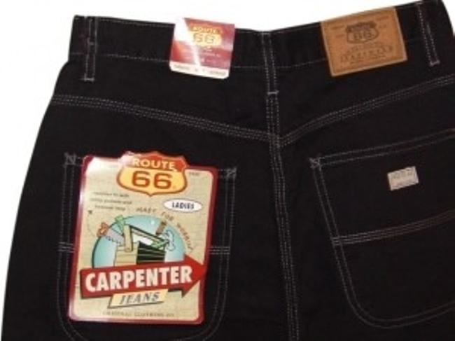 Route 66 Cargo Jeans-Black