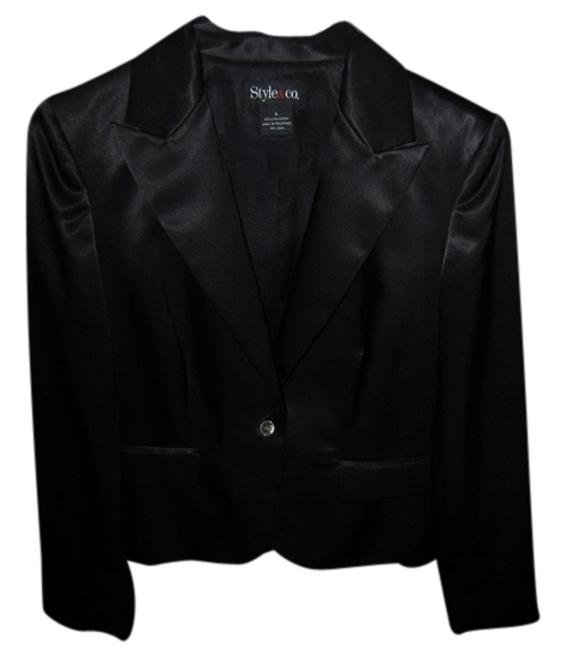 Preload https://item4.tradesy.com/images/style-and-co-black-blazer-size-6-s-3260578-0-0.jpg?width=400&height=650