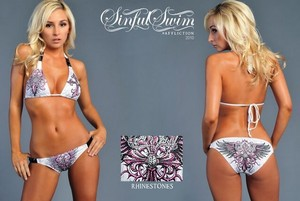Sinful by Affliction NWT SINFUL Bikini Top & Bottom