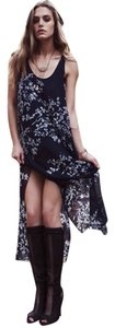 Maxi Dress by Chaser Silk Print Maxi Boho Bohemian