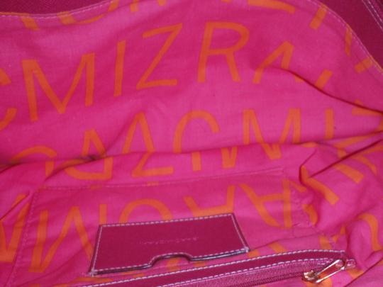 Isaac Mizrahi Diaper Weekends Shopping Travelling Purse Shoulder Hand Tote in Beige/pink