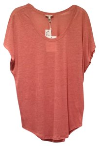 Joie T Shirt Vintage Rose