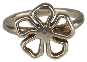 Tiffany & Co. Tiffany & Co. Sterling Silver 925 Flower Ring, Size 7 (42489)
