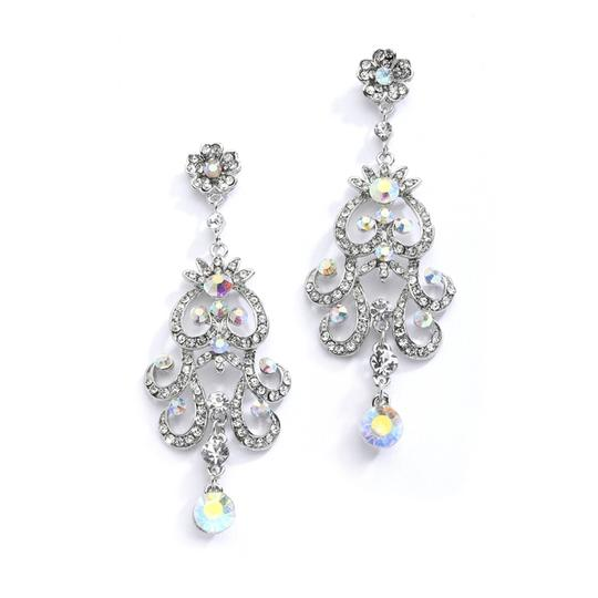 Preload https://item3.tradesy.com/images/mariell-silver-iridescent-ab-vintage-chandelier-for-prom-homecoming-or-4054e-earrings-3262237-0-0.jpg?width=440&height=440
