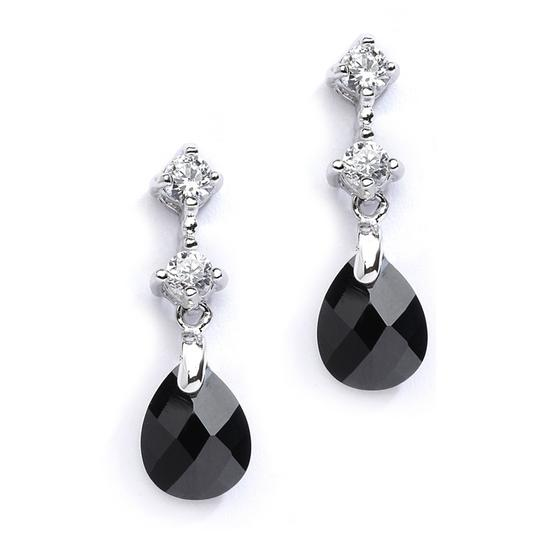 Preload https://item2.tradesy.com/images/mariell-silverjet-black-cz-or-bridesmaids-with-crystal-drops-4078e-je-earrings-3262351-0-0.jpg?width=440&height=440