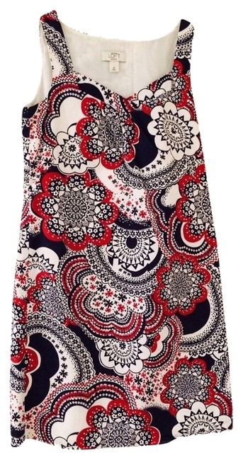 Preload https://item5.tradesy.com/images/ann-taylor-loft-red-white-and-blue-short-casual-dress-size-2-xs-3262399-0-0.jpg?width=400&height=650