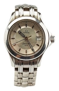 Omega Omega Ladies SS Omega Seamaster 120m Watch