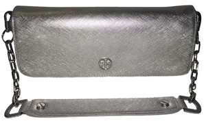 Tory Burch Silver/metallic Clutch