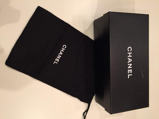 Chanel Rose Fonce Mules