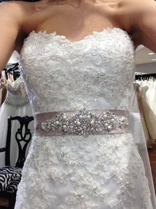 Maggie Sottero Pearl Rose/parisian Mist Beaded Belt