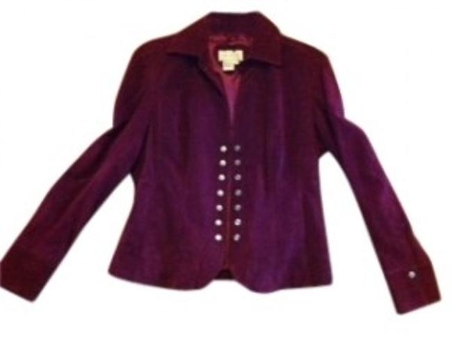 Preload https://item1.tradesy.com/images/live-a-little-plum-eggplant-women-s-suede-never-worn-leather-jacket-size-6-s-32645-0-0.jpg?width=400&height=650