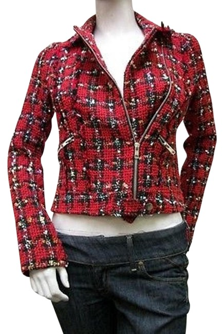 Sweet Rain Sweet Rain Tweed Long Sleeve Blazer Suit Multicolor 55752