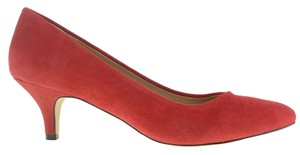 Chinese Laundry Suede Lollipop Red Pumps