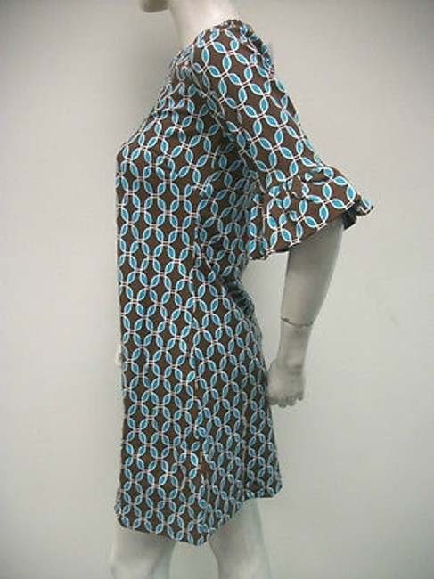 Tracy Negoshian short dress Multi-Color Betsy Brown Aqua on Tradesy
