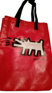 Keith Haring Foundation Tote in red