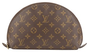 Louis Vuitton Louis Vuitton Monogram Trousse Demi Ronde Cosmetic Pouch (Authentic Pre Owned)
