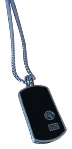 David Yurman David Yurman Black Onyx Dog Tag