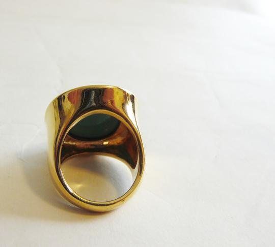 Joan Rivers Joan Rivers Faux Turquoise Faceted Ring Size 8