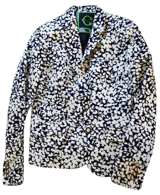 Preload https://item5.tradesy.com/images/c-wonder-floral-print-blue-and-white-blazer-3268894-0-0.jpg?width=400&height=650